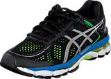Asics - Gel-Kayano 22 Black/Silver/Yellow
