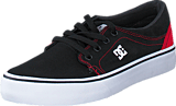 DC Shoes - Dc Kids Trase Tx Shoe Black/Red