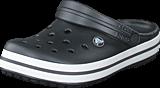 Crocs - Crocband Graphite/White