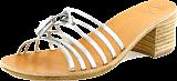 Swedish Hasbeens - Tassel Sandal High Silver