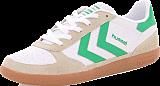 Hummel - Victory Retro LS White/ Fern Green