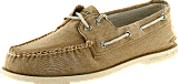 Sperry Topsider - A/O 2-Eye Khaki Salt Wshd Cnvs