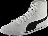 Puma - Benecio Mid Canvas White/Blac