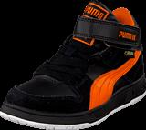 Puma - Grifter Mid Jr Gtx Black/Orange