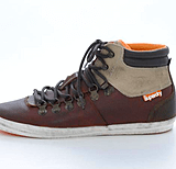 Superdry - Mountain sneaker Brown Tumbled Leather