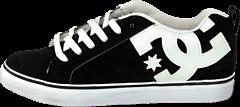 DC Shoes - Court Vulc Shoe BKW Black