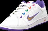 Nike - Court Tradition 2 Plus (GS) White-Mtllcg