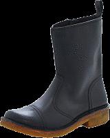 Swedish Hasbeens - Danish Boot Black/Nature