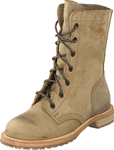 Swedish Hasbeens - Military Boot Military Green Nubuck