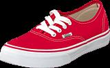 Vans - K Authentic Red/True White