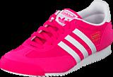 adidas Originals - Dragon J Shock Pink S16/Ftwr White