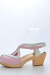 Swedish Hasbeens - Cobra High Pink White