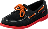 Sebago - Dockside Blue/Orange