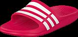 adidas Sport Performance - Duramo Slide K Vivid Berry/White