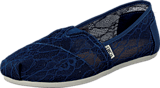 Toms - Seasonal Classic Ink Lace