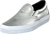 Vans - Classic Slip-On (Metallic Leather) Silver