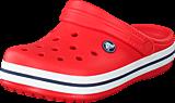 Crocs - Crocband Kids Flame/White
