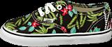 Vans - T Authentic Hawaiian Flora Black