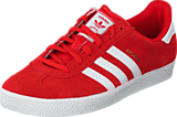 adidas Originals - Gazelle 2 J Lush Red S16-St/Ftwr White