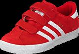 adidas Originals - Gazelle 2 Cf C Lush Red S16-St/Ftwr White
