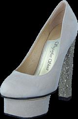 Sugarfree Shoes - Marica Cream / Glitter