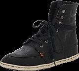 Hub Footwear - Chess Leather/Lumberjack Black