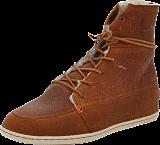 Hub Footwear - Song Leather/Wool Brown