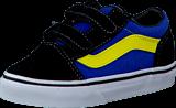 Vans - T Old Skool V Black/Skydiver