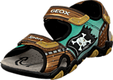 Geox - Jr Sandal Strike Brown/Gold