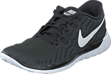Nike - Nike Free 5.0 Black/White-Dark Grey-Cl Grey