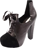 Black Secret - Gisa party shoe