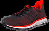 adidas Sport Performance - Adizero Feather 4 M Core Black/Black/Solar Red
