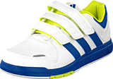 adidas Sport Performance - Lk Trainer 6 Cf K White/Royal/Yellow