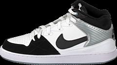 Nike - Nike Priority Mid White/Blk-Mgnt Gry-Mtllc Slvr