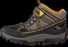 Geox - Jr Himalaya B Abx Black/Yellow