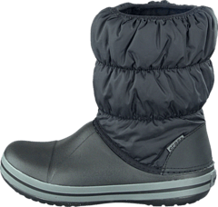 Crocs - Winter Puff Boot Kids Black-Charcoal