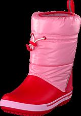 Crocs - Crocsband Iridescent GustBootK Pink/Poppy