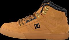 DC Shoes - Spartan High Wc Wnt Shoe Wheat/Turkish C