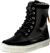 Le Coq Sportif - Ancelina Mid Plus Leather Black
