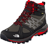 The North Face - W Ultra Extreme Dgu Gry/Rok Red
