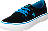 DC Shoes - Kids Trase Tx Shoe Blackturquoise