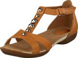 Clarks - Raffi Scent Tan Leather