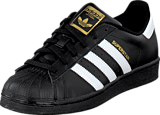 adidas Originals - Superstar Foundation Jr Black/White