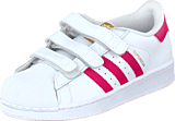 adidas Originals - Superstar Foundation Cf C Ftwr White/Bold Pink