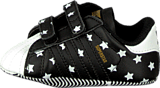 adidas Originals - Superstar Crib Black/Ftwr White