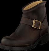 Johnny Bulls - Very Low Boot Zip Back Brown/Gold