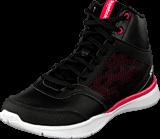 Reebok - Cardio Workout Mid Rs Syn Black/Gravel/Blazing Pink