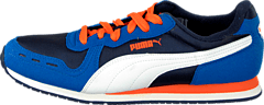 Puma - Cabana Racer Mesh Jr Strong Blue-Peacoat-White