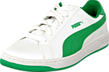 Puma - Puma Smash L Jr White-Fern Green