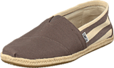 Toms - University Classic Grey Stipes